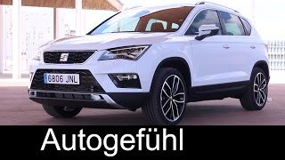 Seat Ateca Exterior/Interior & official feature Preview colours Samoa/White