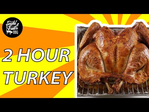 Fastest Way to Cook a Juicy Turkey with Crispy Skin (Spatchcocked Butterflied Turkey)