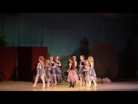 """Детский балет """"Дюймовочка"""". Пауки и паучата"""