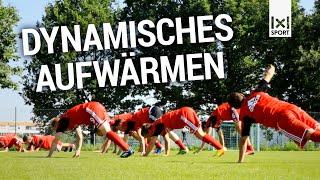 Movement Preps - Effektive Aufwärm- und Fitnessübungen im Fußballtraining