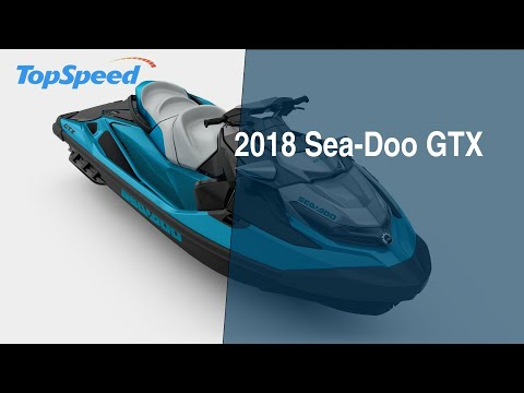 2018 Sea-Doo GTX - YouTube