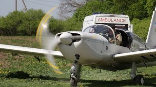 «Летающая скорая помощь»: в Харькове волонтеры создали сан авиацию