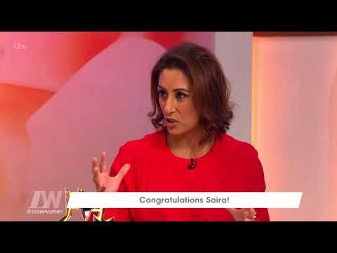 Congratulations Saira!   Loose Women