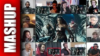 JUSTICE LEAGUE Trailer 1 Reactions Mashup