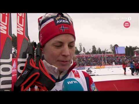 Falun 2015: Interview with Astrid Uhrenholdt Jacobsen after relay