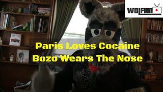 paris snorts a line off bozo the clowns what
