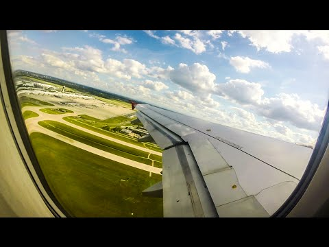 airberlin Airbus A320 Takeoff from Munich Airport