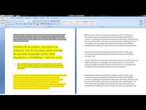 How to Clear/Remove Text Formatting in Microsoft Word