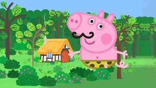 Peppa Pig Français ⭐️George le Géant ⭐️30 MINUTES   Dessin Animé
