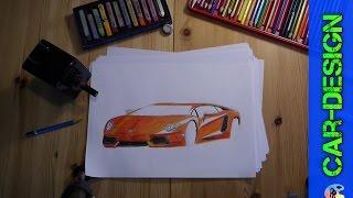 Lamborghini Aventador speed draw - Lamborghini Aventador speedart / speed drawing 1080p(Wichtige Infos / important informations ▽▽▽ Tags Lamborghini Aventador speed draw - Lamborghini Aventador speedart / speed drawing 1080p speed draw ..., 2016-02-07T17:00:01.000Z)