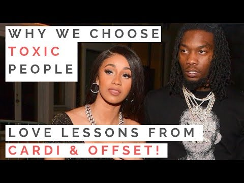 WHY YOU KEEP DATING TOXIC GUYS: Love Advice From Cardi & Offset's Dysfunctional Relationship | Mp3