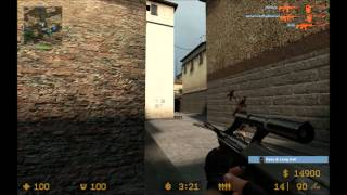 Counter-Strike Source Huge Bot Game: Italy Map