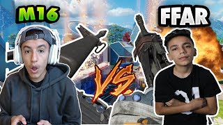 Black Ops 3 M16 vs FFAR! 1v1 Against My Brother!