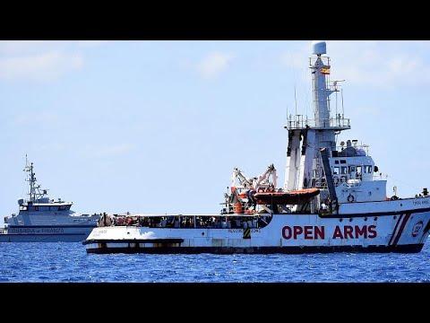 Justiça italiana ordena desembarque do Open Arms