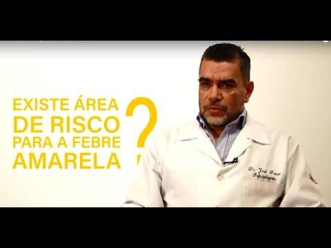 Existe área de risco para a febre amarela?