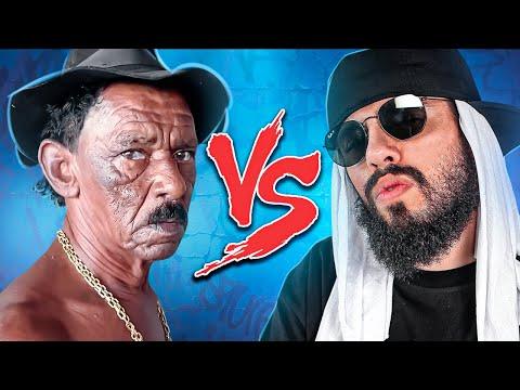 Tiringa (Comédia Selvagem) Vs. Mussoumano - Batalha de Youtubers