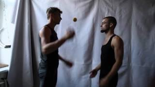 #28. Перекидки 3М (видео уроки по жонглированию от ПГ и МК)