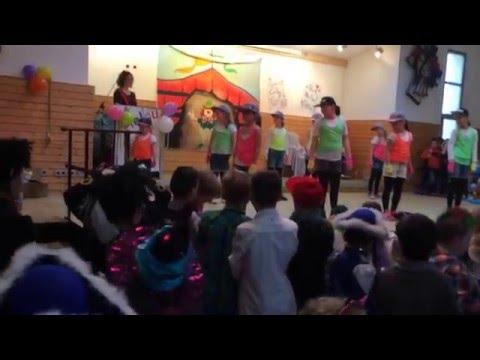 Kinderkarnaval Bekond 23.01.2016