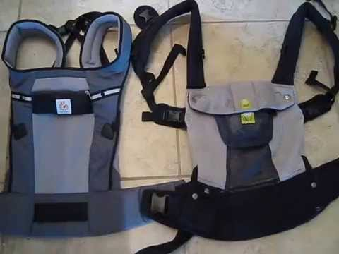 Carrier Comparison Lillebaby Airflow Vs Ergobaby Ventus