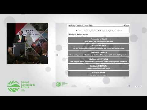The Economics of Ecosystems and Biodiversity for Agriculture and Food GLF 2015