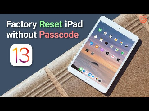How To Reset IPad/iPad Pro Without Passcode Or ITunes IOS 13 2020