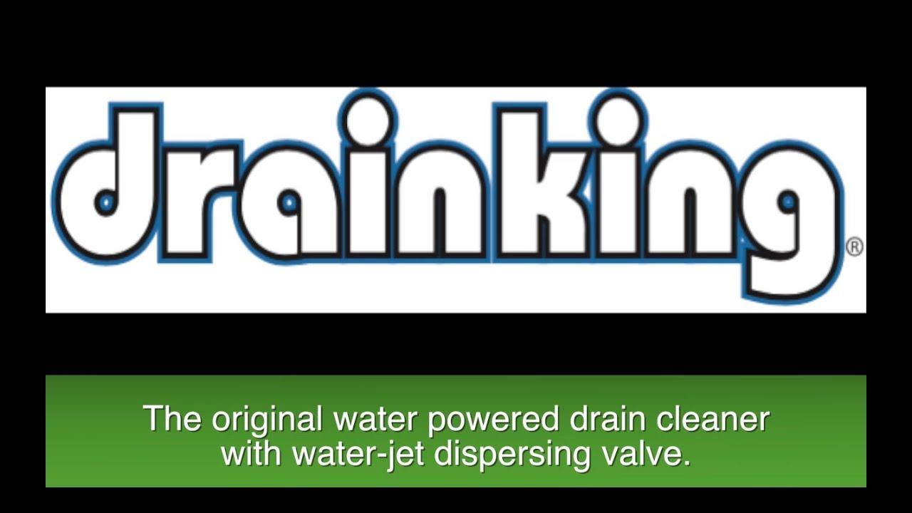 "1-2/"" Drain Cleaning Water Bladder with Garden Hose Attachment"