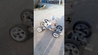 видео Детский электромобиль своими руками. Самодельный электромобиль своими руками