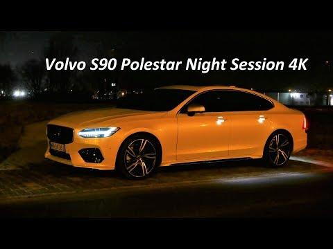 Volvo S90 T6 AWD Polestar NIGHT TEST DRIVE [Jazda Próbna] Test PL