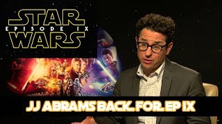 JJ Abrams announced as new director of Star Wars Episode 9!!