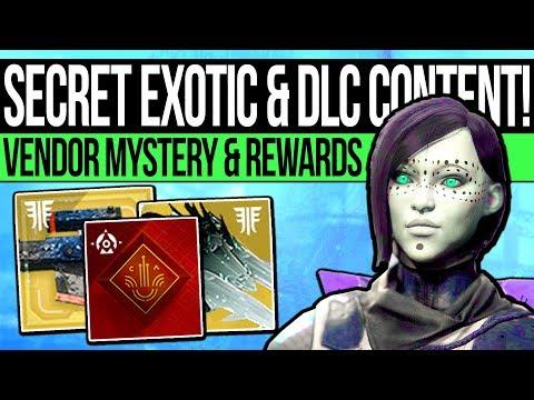 Destiny 2 | SECRET EXOTIC FOUND & VENDOR REVEALED! New Trailer, Quest Update, Hidden Loot & More! thumbnail