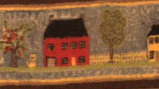Dollhouse Miniatures -  Hooked Rugs, Carpets & Wall Hangings By Don Thomas Designs
