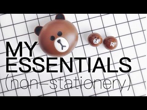 My Essentials (Non-Stationery Edition)