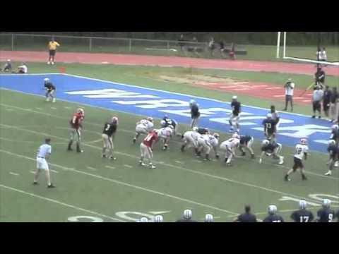 David Brzozowski Jr.-Senior- Football Highlight 1- Cheshire High School
