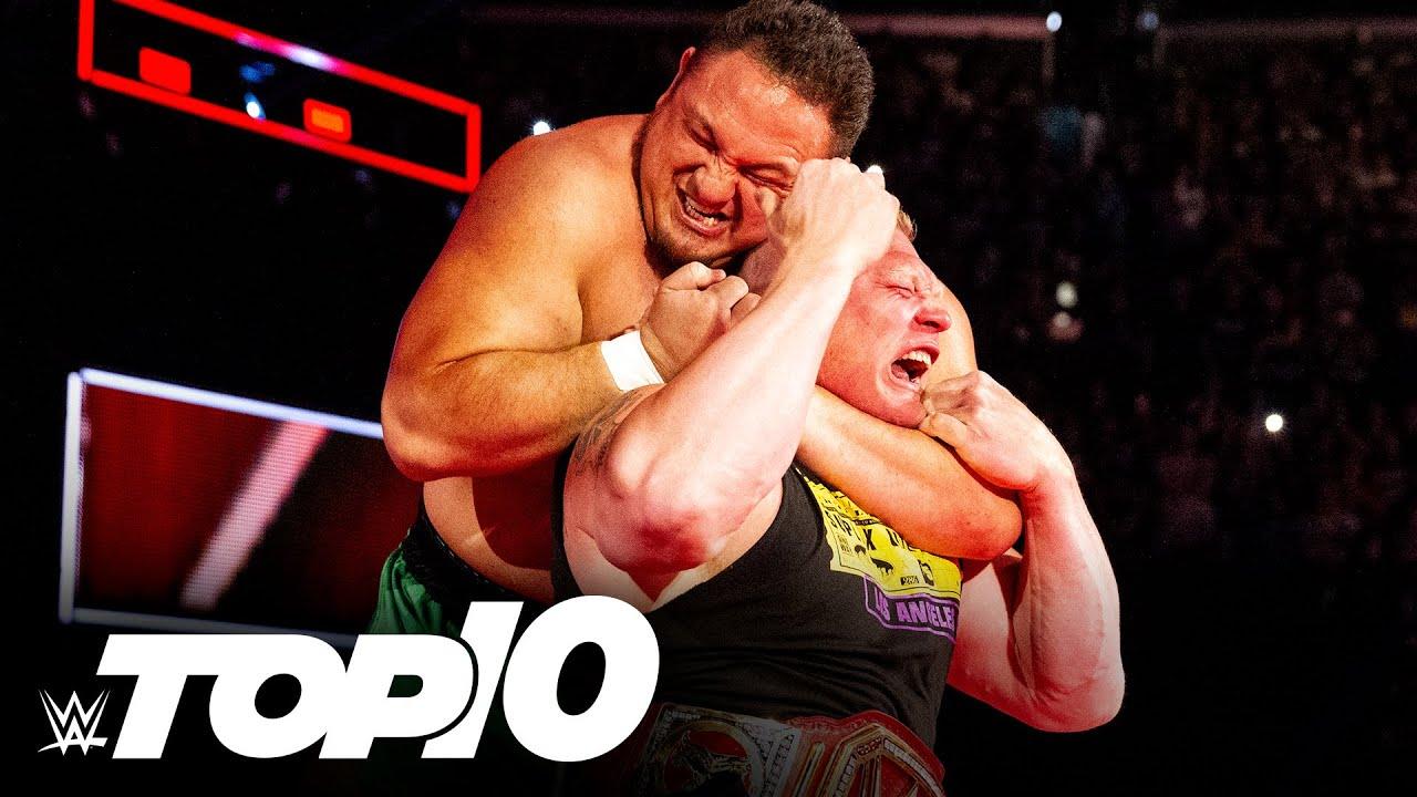 Samoa Joe's most badass moments: WWE Top 10, June 24, 2021