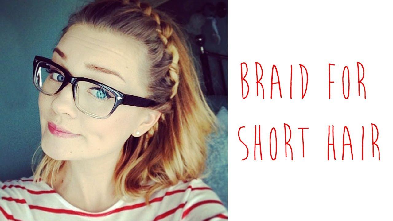 Howto: Braid For Short Hair  Tinytwisst