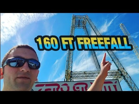 Falling 100+ Feet into a Net (Zero Gravity, Dallas, TX) #bebravechallenge