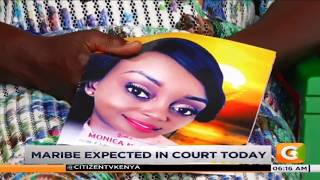 Citizen journalist Jacque Maribe and business man Brian Kasaine to be arraigned in court #Daybreak