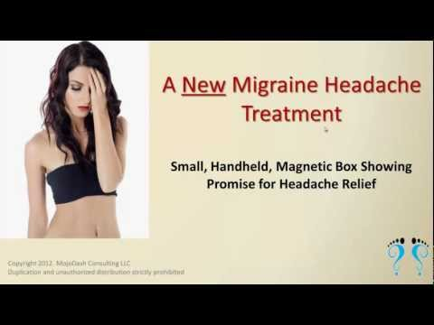 New Migraine Headaches Treatment