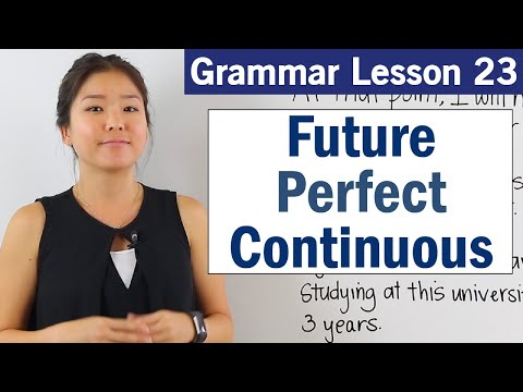 Learn Future Perfect Continuous Tense | Basic English Grammar Course