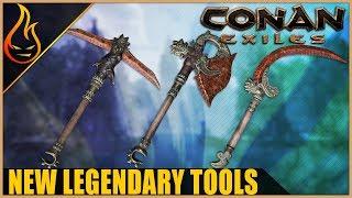New Legendary Tools Conan Exiles 2019 PTR Content