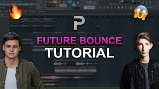 HOW TO MAKE: Future Bounce (2018) - FL Studio tutorial + FLP