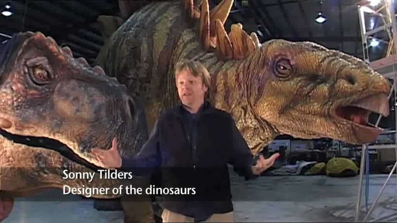 Walking With Dinosaurs Arena Spectacular Behind The