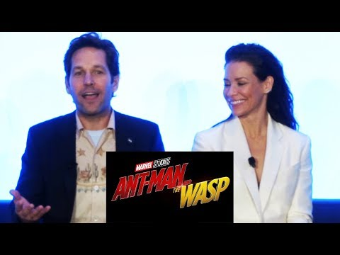 """Marvel's """"Ant-Man and The Wasp"""" FULL press conference (Warning: Spoilers) w/ cast and creative team"""