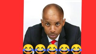 Eric omondi shaves his hair after man utd lost to arsenal