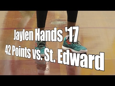 Jaylen Hands '17 Scores 42 Points vs. St. Edward, UA Holiday Classic Semifinal, 12/29/16