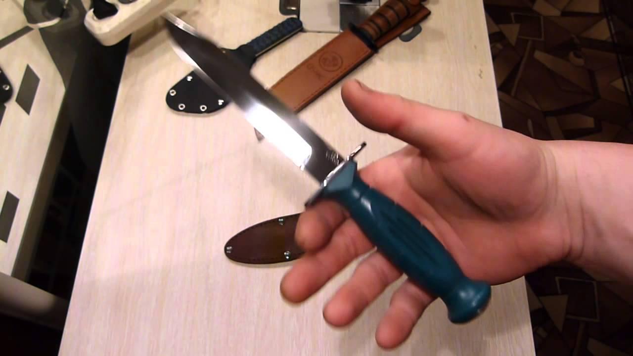 Нож НР-43 Вишня. Подробная история от ЗОФ - YouTube