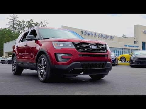 2016 Ford Explorer Sport in 4k!