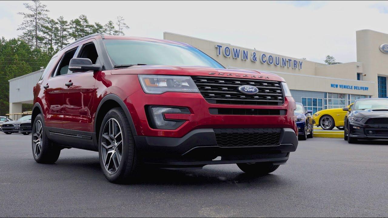 2016 Ford Explorer Sport In 4k!
