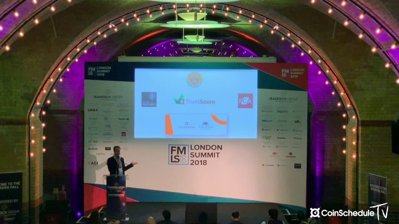 Alex Buelau - Trust Score Talk at Finance Magnates London 2018