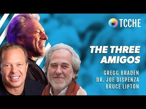 Gregg Braden, Dr. Joe Dispenza & Bruce Lipton Ph.D @ TCCHE 2017